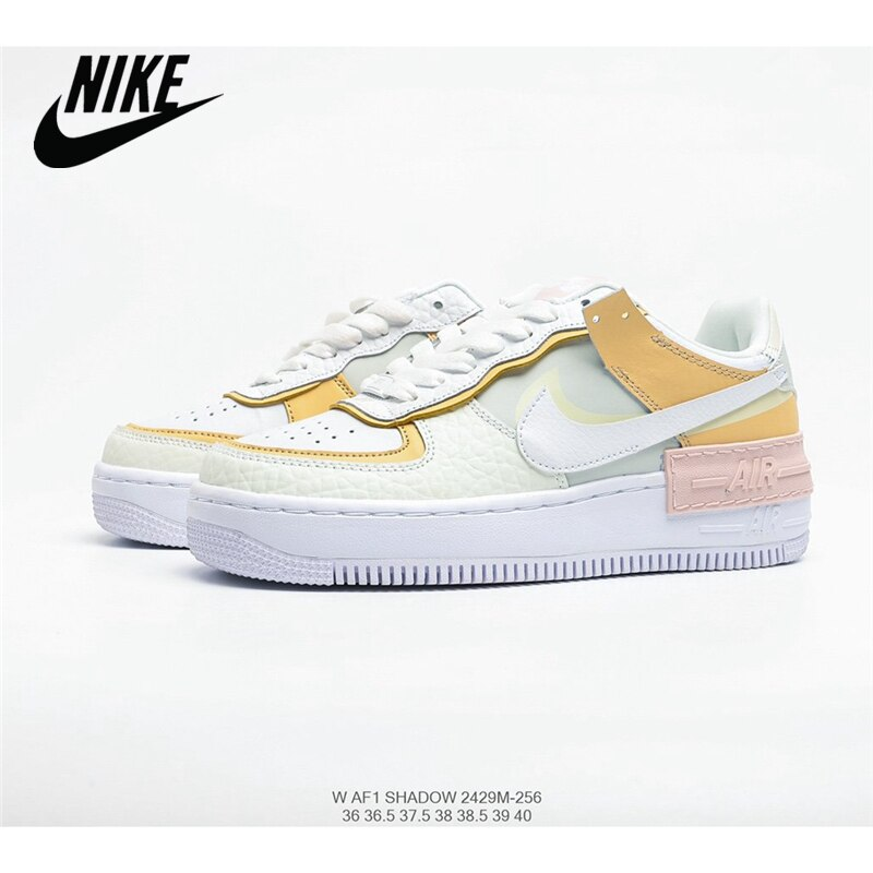 Nike Wmns Air Force 1 Shadow Tropical Twist Air Force One Lightweight Increase And Low Help Featuring a slightly exaggerated 3cm midsole which not only adds extra height, but also makes the shoe instantly recognisable while playing with proportions. nike wmns air force 1 shadow tropical